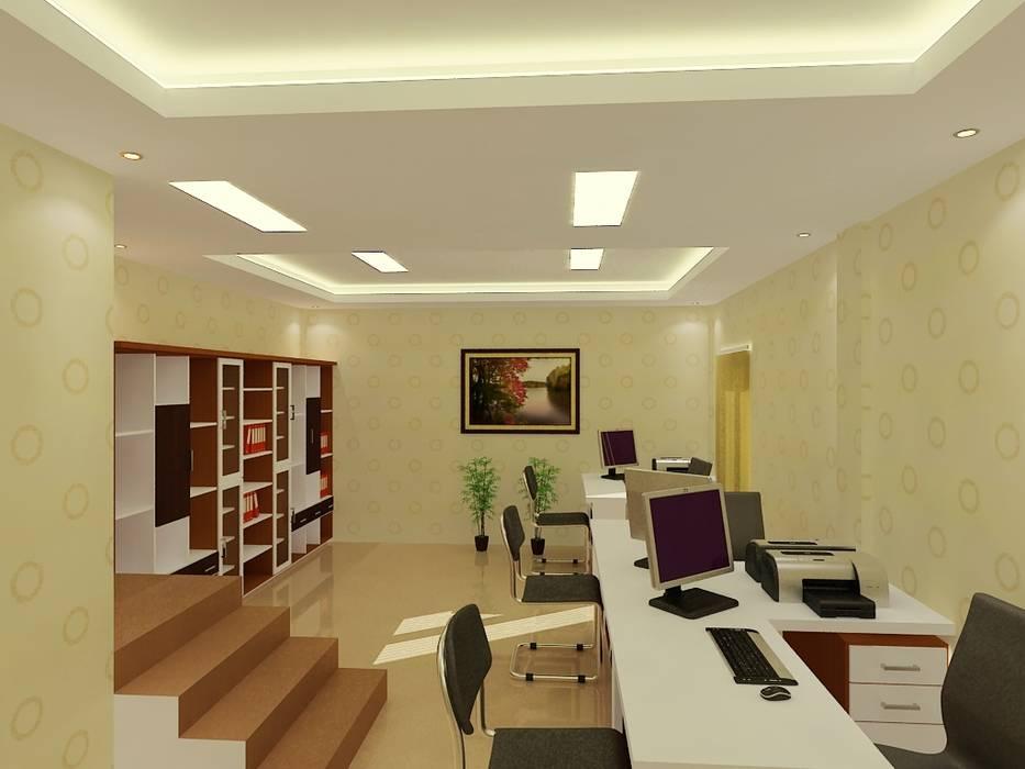 Interior Kantor Di Riau Business Centre-Pekanbaru RF Arch & Design