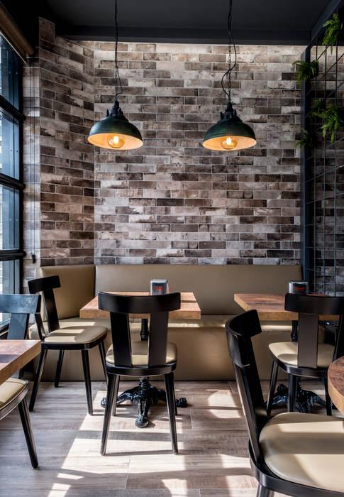Design Interiores café pastelaria Espaços de restauração coloniais por Oficina Design Colonial