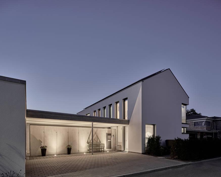 Ansicht Osten Mit Eingang Einfamilienhaus Von Schiller