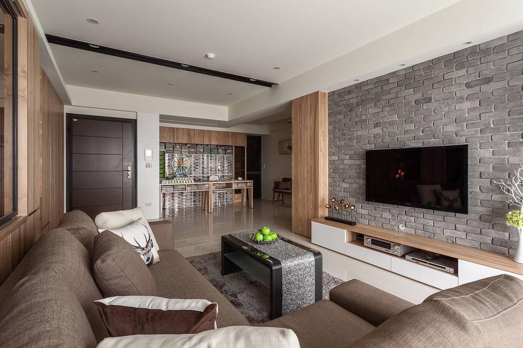 自然 根據 鼎士達室內裝修企劃 現代風 實木 Multicolored