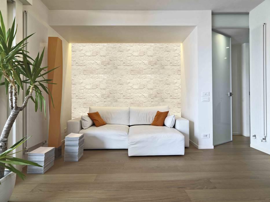 BX-053 Navarra Paredes y suelos de estilo moderno de Bricopol Moderno