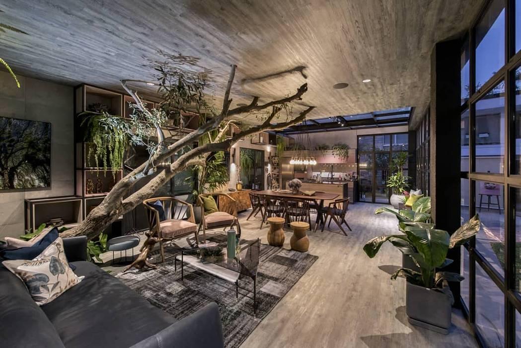 Garden Chic Perú Paisajismo - Loft de Marianne Casacor 2018: Paisajismo de interiores de estilo  por Garden Chic Perú