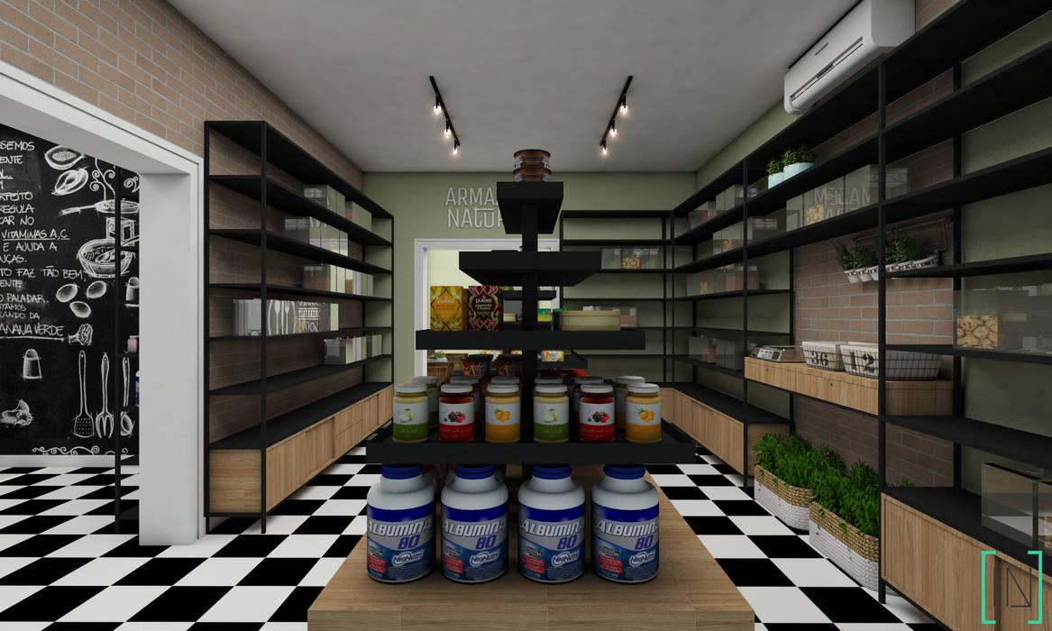 Projeto de Interiores: Espaços comerciais  por INOVE ARQUITETURA