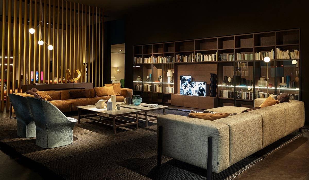 Arredamento soggiorno e divani soggiorno moderno di ...