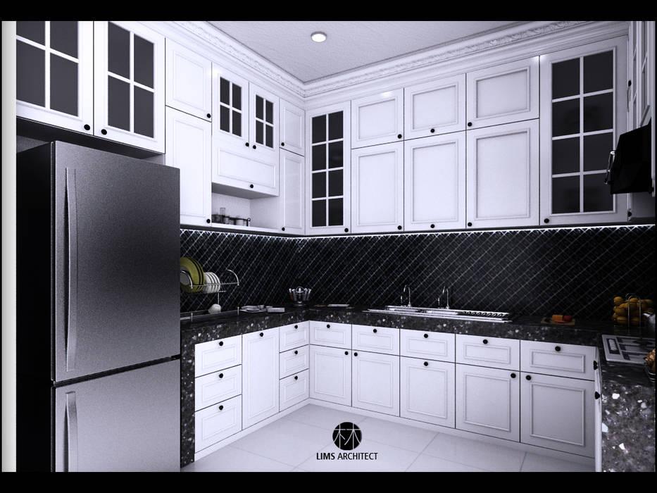 Kitchen Design 1:  Dapur by Lims Architect