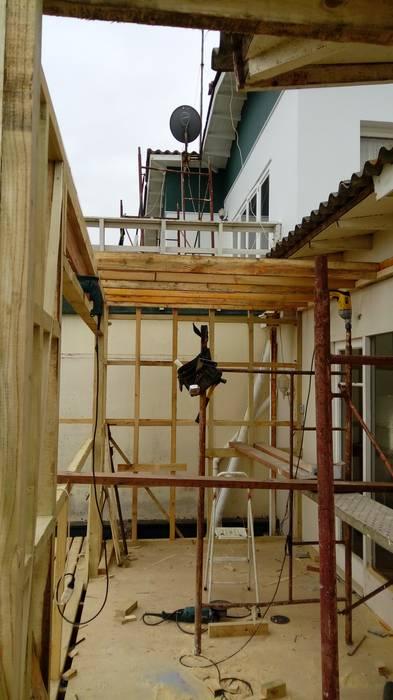 Estructura de muros ampliación ESARCA Casas unifamiliares
