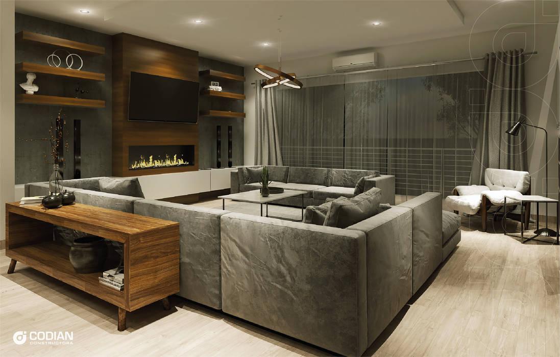 CODIAN CONSTRUCTORA Living room