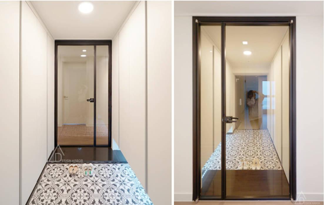 Corridor & hallway by 디자인 아버, Modern