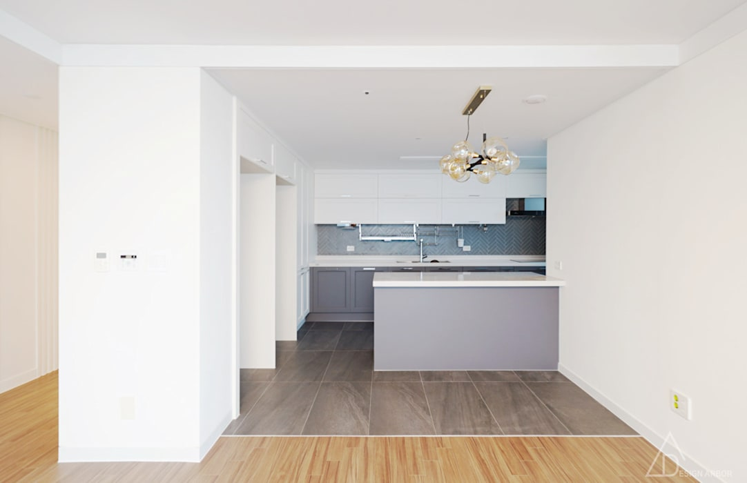 Kitchen by 디자인 아버, Modern