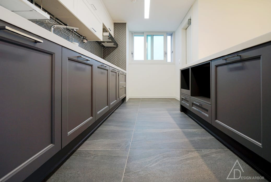 Modern kitchen by 디자인 아버 Modern