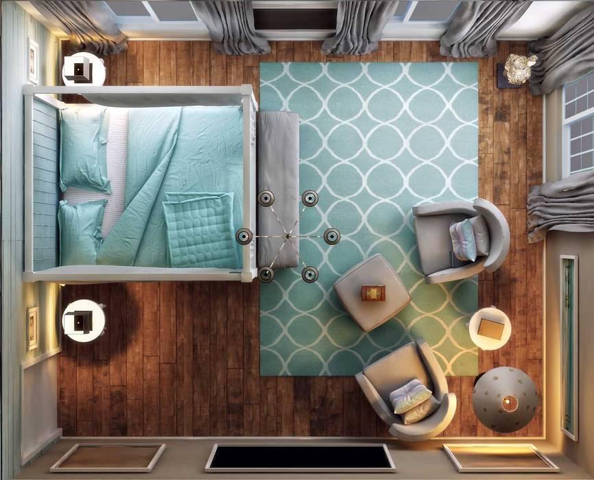 ANTE MİMARLIK  – Yatak odası:  tarz Yatak Odası