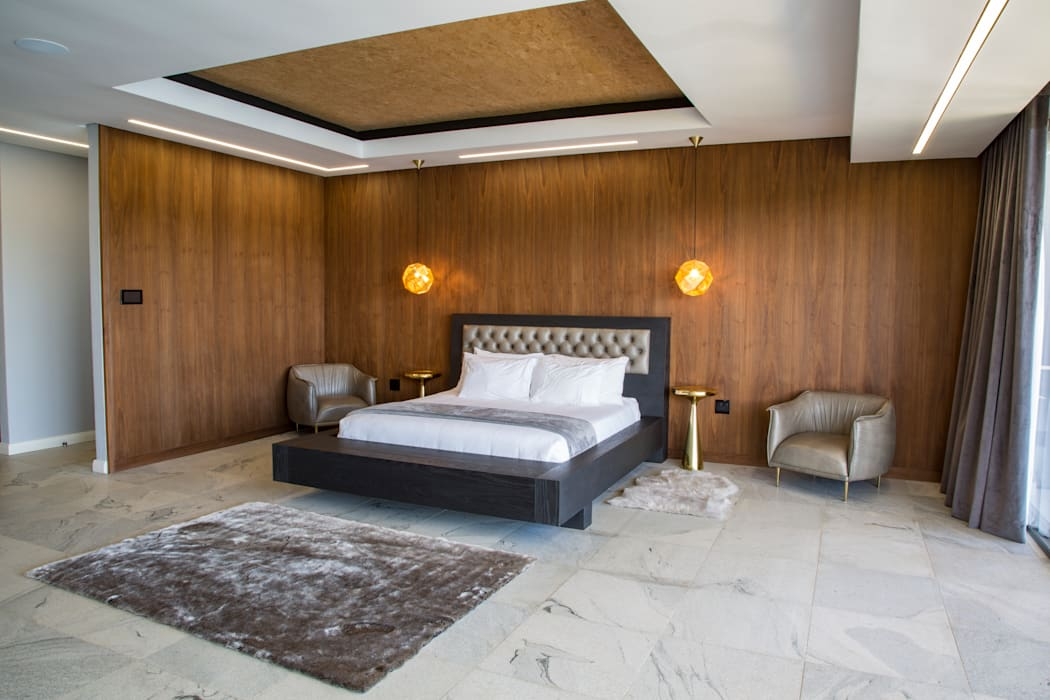 Master Bedroom:  Bedroom by AB DESIGN, Minimalist