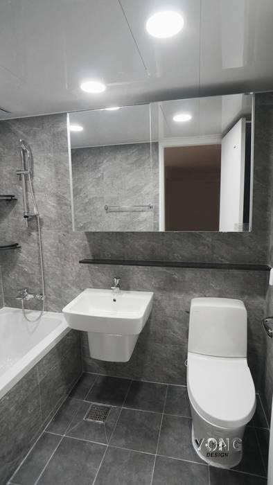 안양시 평촌동 향촌마을 현대아파트 (32평) YONG DESIGN 미니멀리스트 욕실