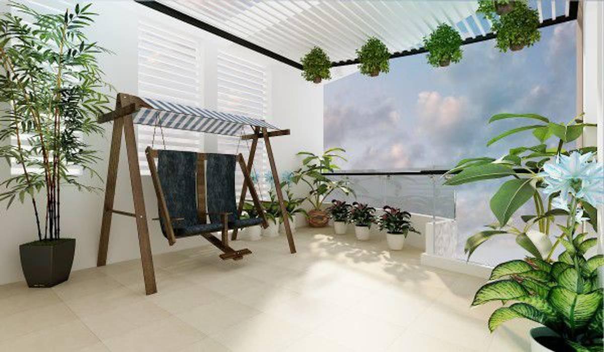 Phong thủy xây nhà trong việc bố trí mảng xanh cho nhà phố đẹp bởi Công ty Thiết Kế Xây Dựng Song Phát Hiện đại