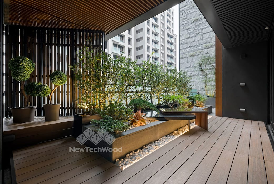 توسط 新綠境實業有限公司 آسیایی کامپوزیت چوب و پلاستیک