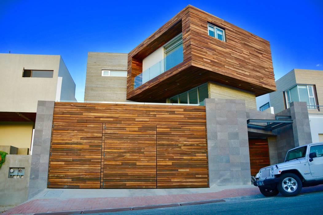 Chalets de estilo  por RFoncerrada arquitectos, Minimalista Madera Acabado en madera