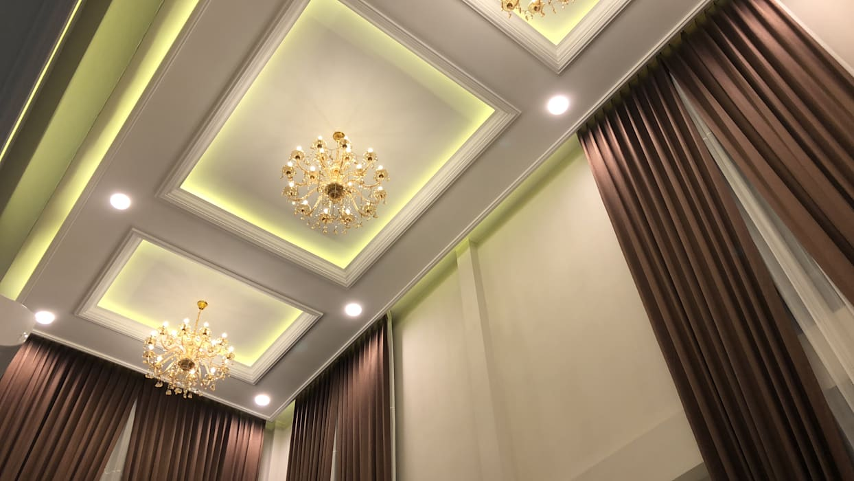 Ingresso, Corridoio & Scale in stile moderno di PT. Leeyaqat Karya Pratama Moderno