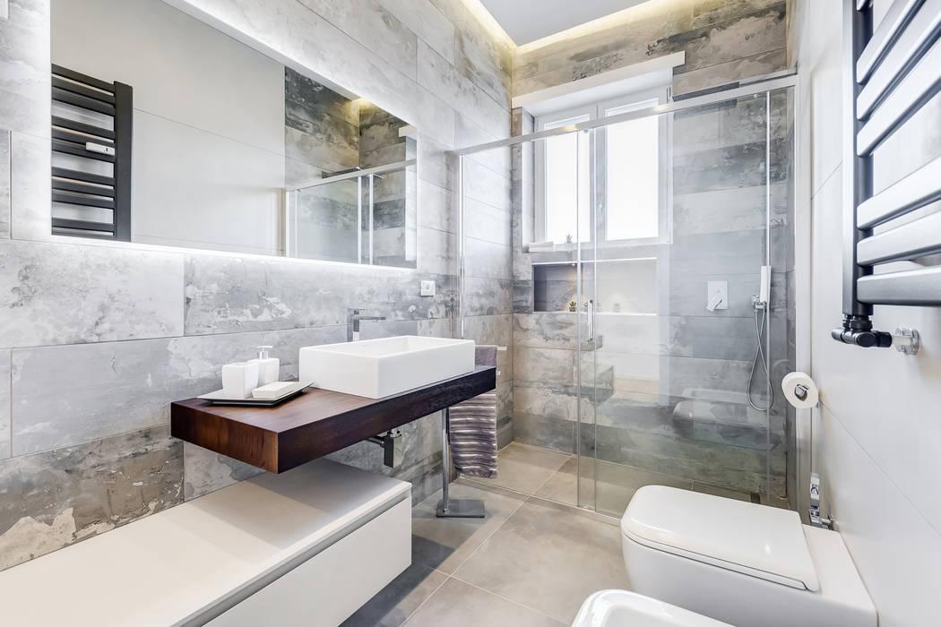 EF_Archidesign Salle de bain minimaliste Gris