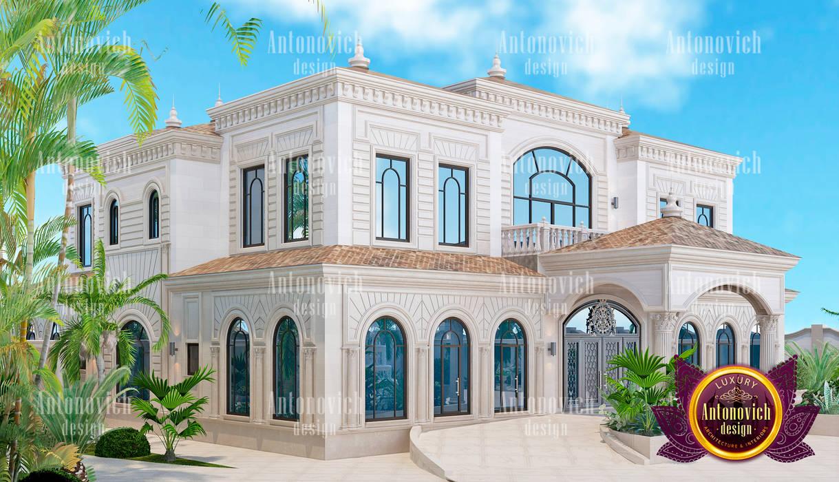 Brilliant exterior design in abuja by luxury antonovich