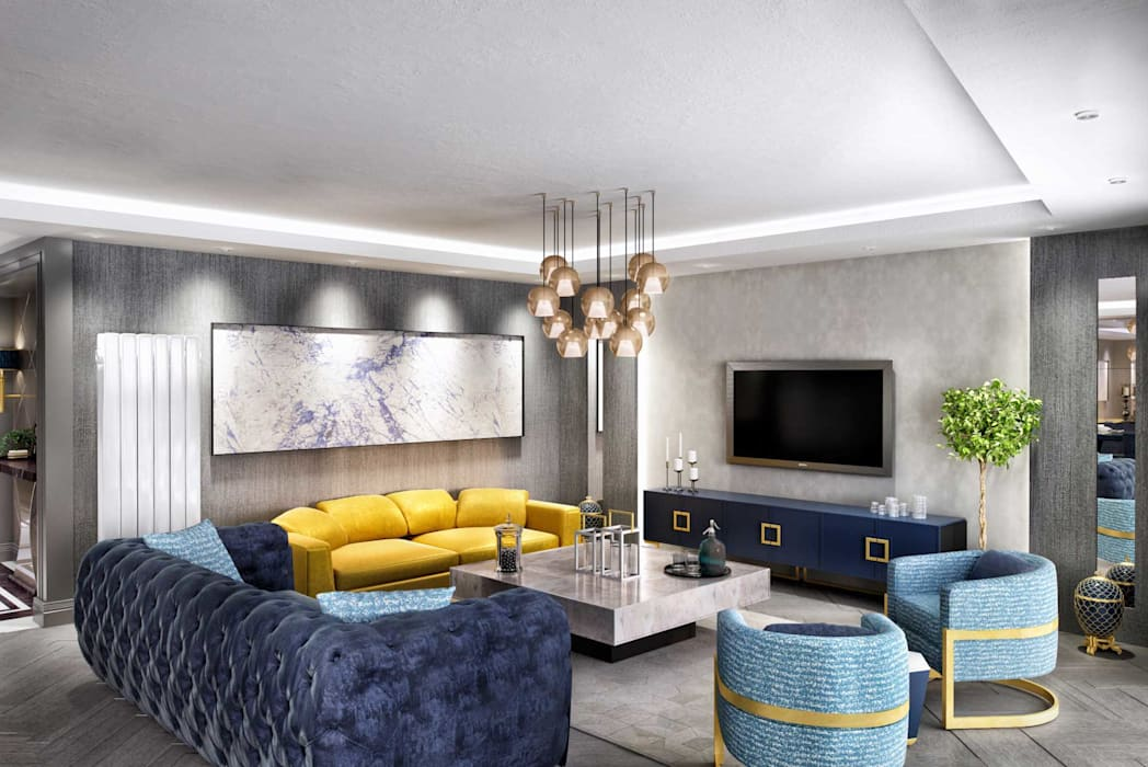 Walls & flooring by ANTE MİMARLIK