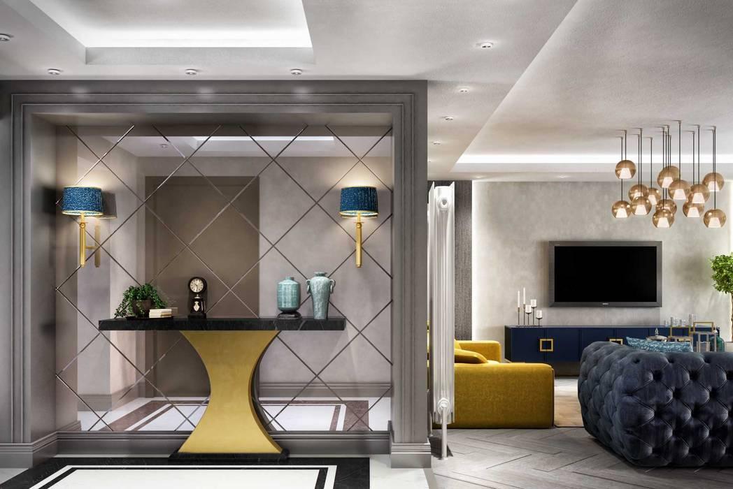 ANTE MİMARLIK Ingresso, Corridoio & Scale in stile moderno