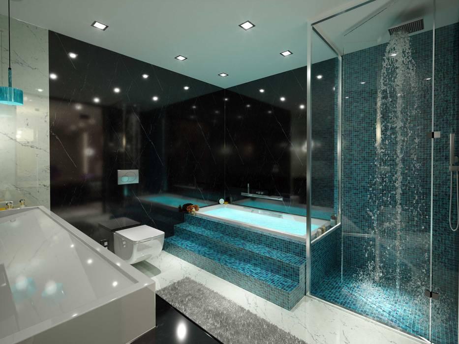 ANTE MİMARLIK  – Banyo tasarım:  tarz Banyo