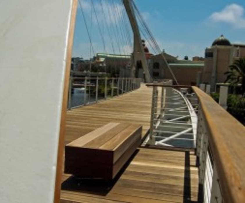Crystal Towers Bridge Century City by Town and Country Projects Modern Wood Wood effect