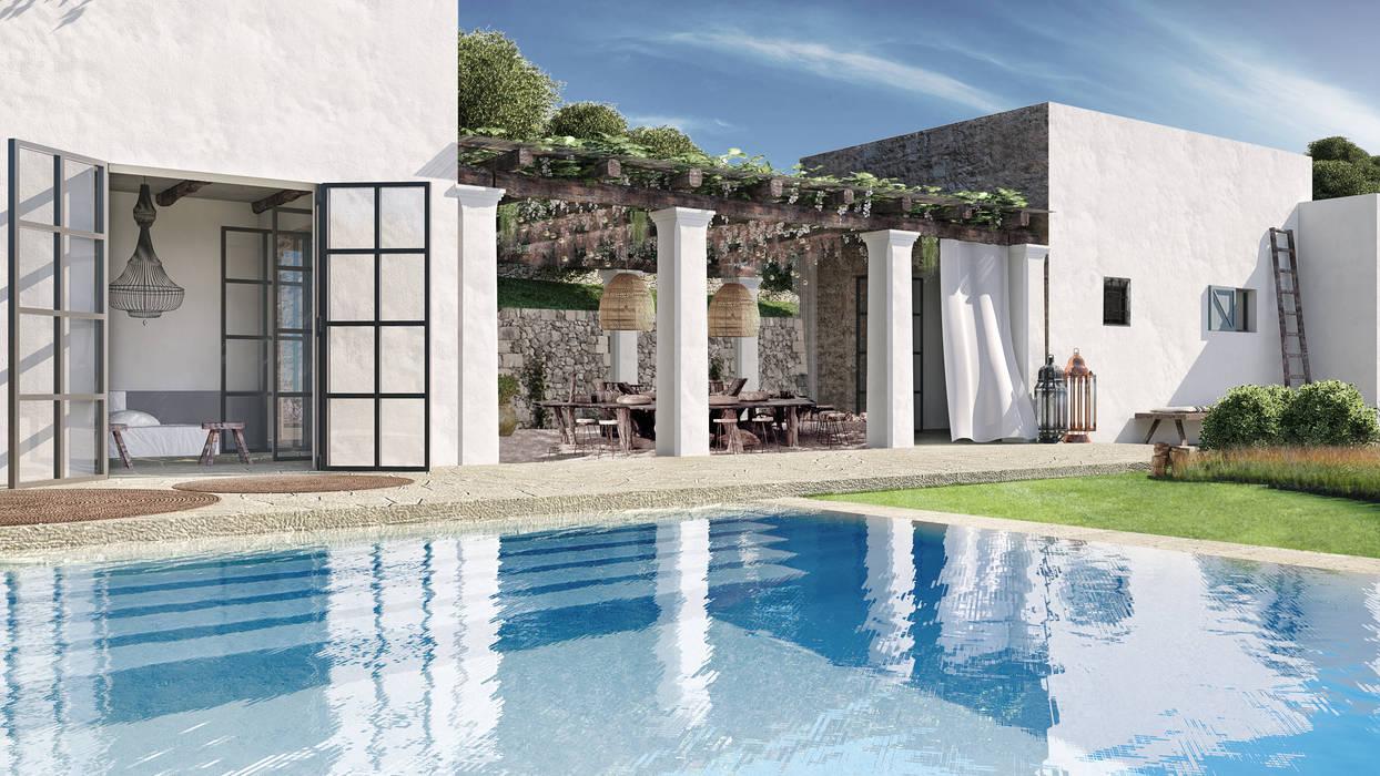 Hồ bơi by architetto stefano ghiretti