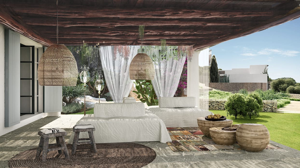 Eclectic style garden by homify Eclectic