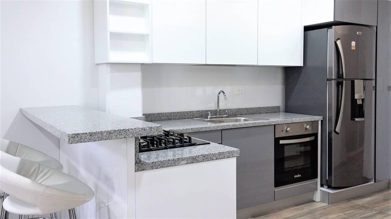 VISTAS Cocinas de estilo minimalista de Design company Minimalista