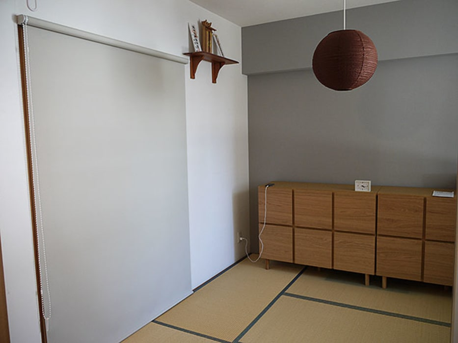 Relaxing and cozy home - リラックスできて居心地の良い家: 株式会社アートアーク一級建築士事務所が手掛けた和室です。