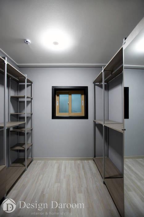 용인 전원주택 B동 30py - 드레스룸 모던스타일 드레싱 룸 by Design Daroom 디자인다룸 모던
