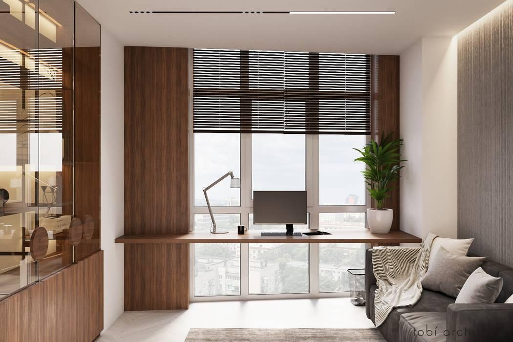 Study/office by Tobi Architects