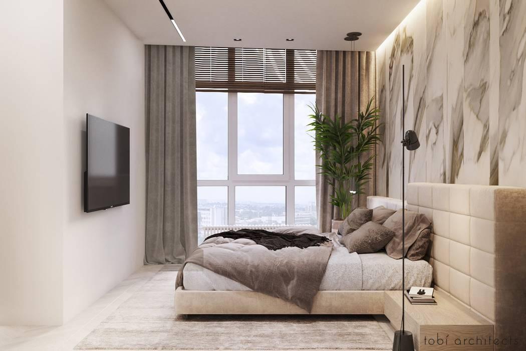 :  Schlafzimmer von Tobi Architects,
