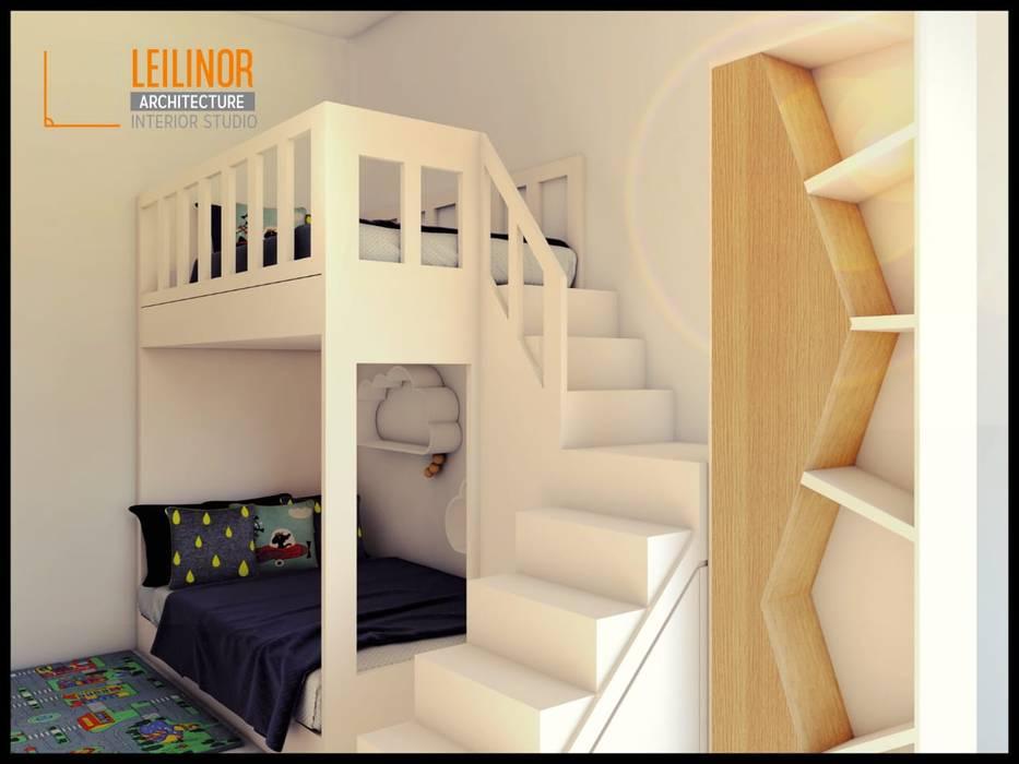Modern Interior Project: Kamar Tidur oleh CV Leilinor Architect,