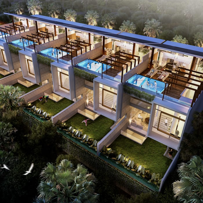 Altitude Sequence: Villa oleh AIGI Architect + Associates,