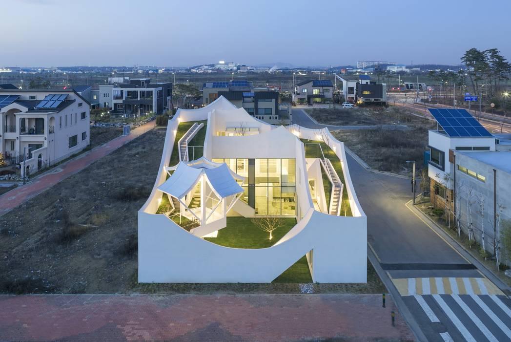 Casas de estilo moderno de IROJE KIMHYOMAN Moderno