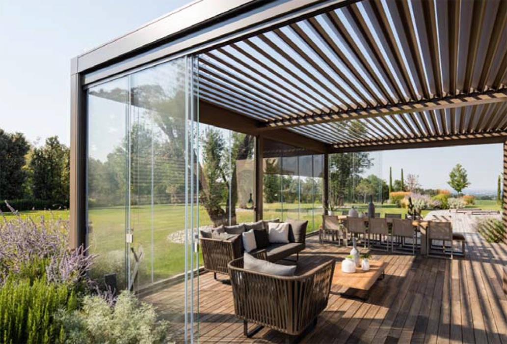 Modern conservatory by IORI ARREDAMENTI Modern