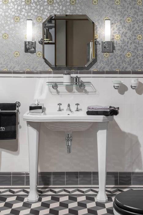 Waschtisch Im Art Deco Stil Badezimmer Von Traditional Bathrooms