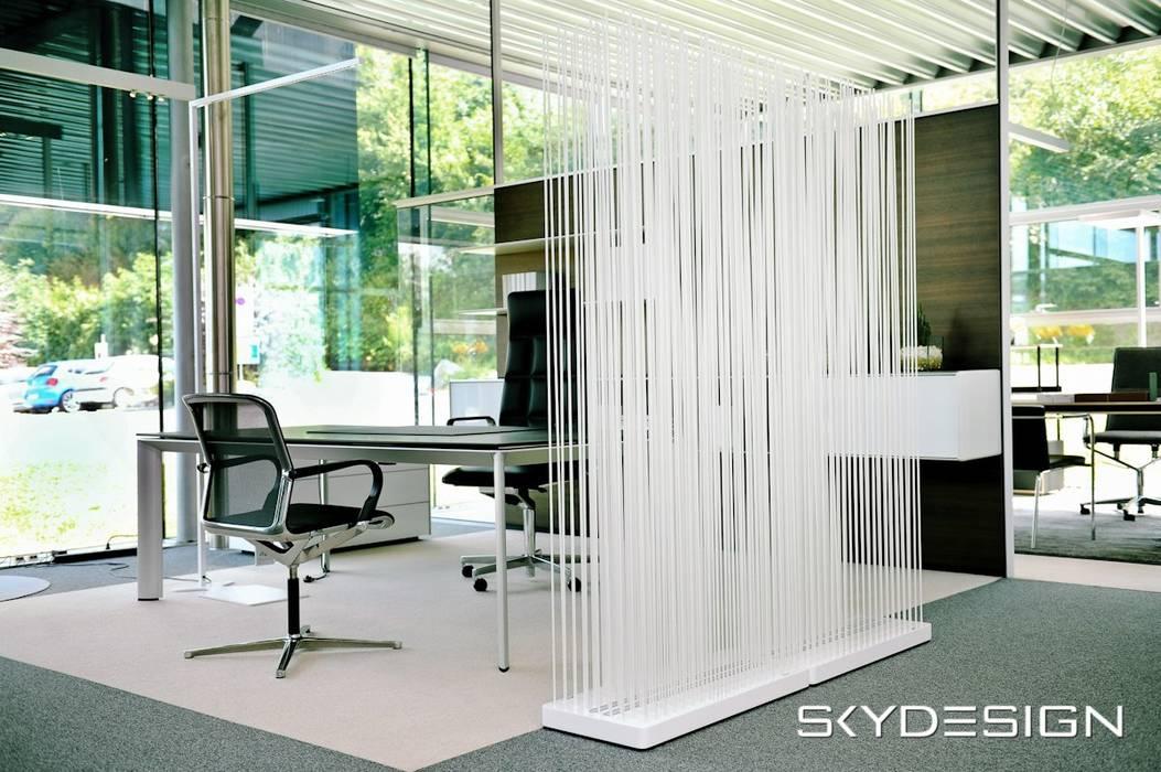 Gut bekannt Moderne raumteiler ideen für das büro mit sichtschutz: von www LJ61