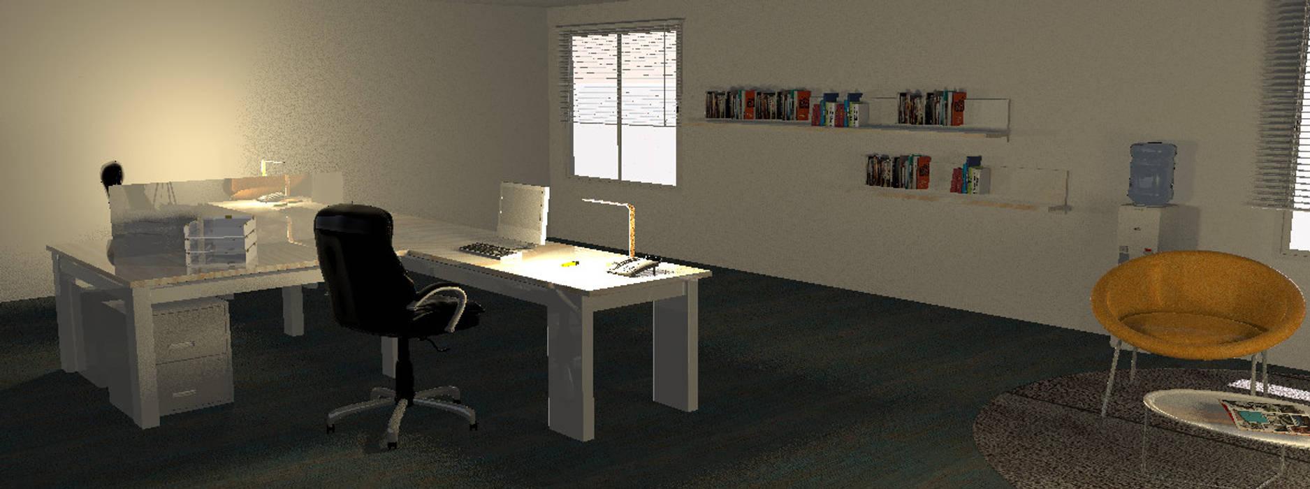 Oficinas Millennials Coworking: Oficinas y Tiendas de estilo  por Minimalistika.com,