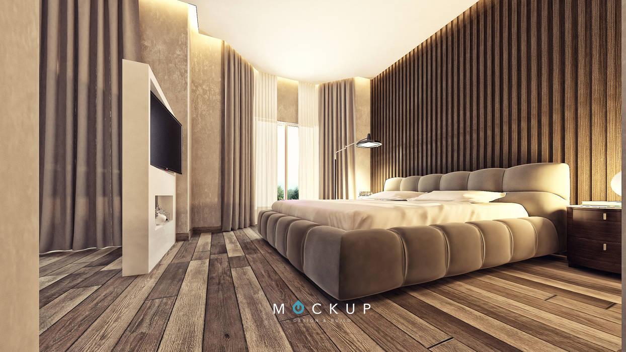 Chambre moderne par Mockup studio Moderne