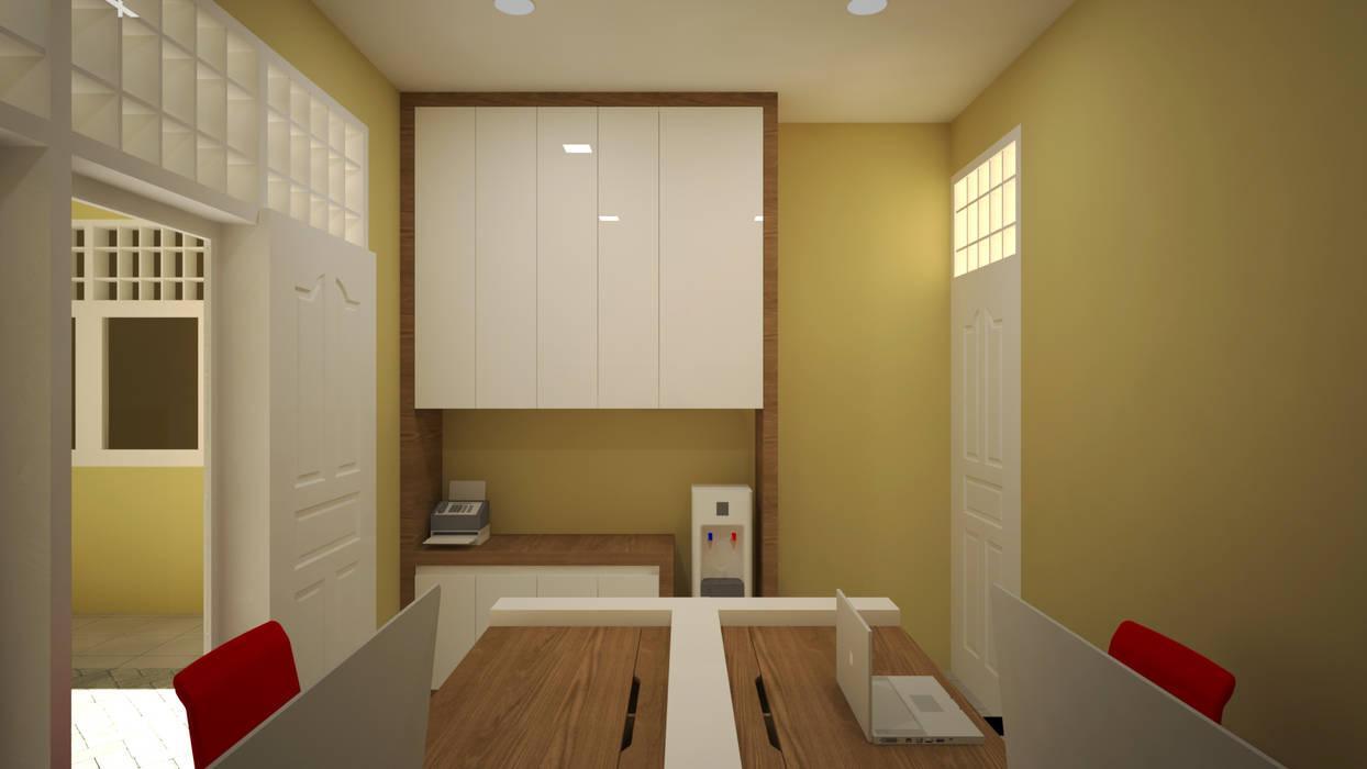 Ruang Keuangan: Ruang Kerja oleh Vaastu Arsitektur Studio, Modern