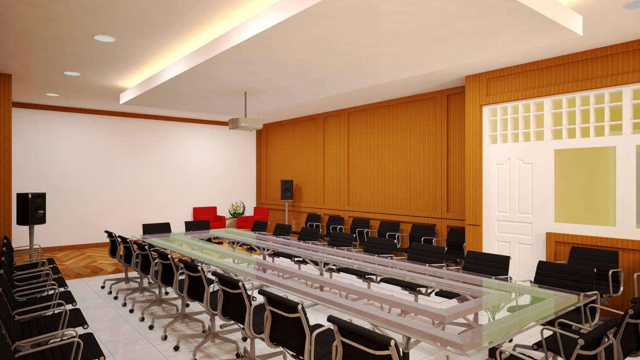 Ruang Meeting: Ruang Kerja oleh Vaastu Arsitektur Studio, Modern