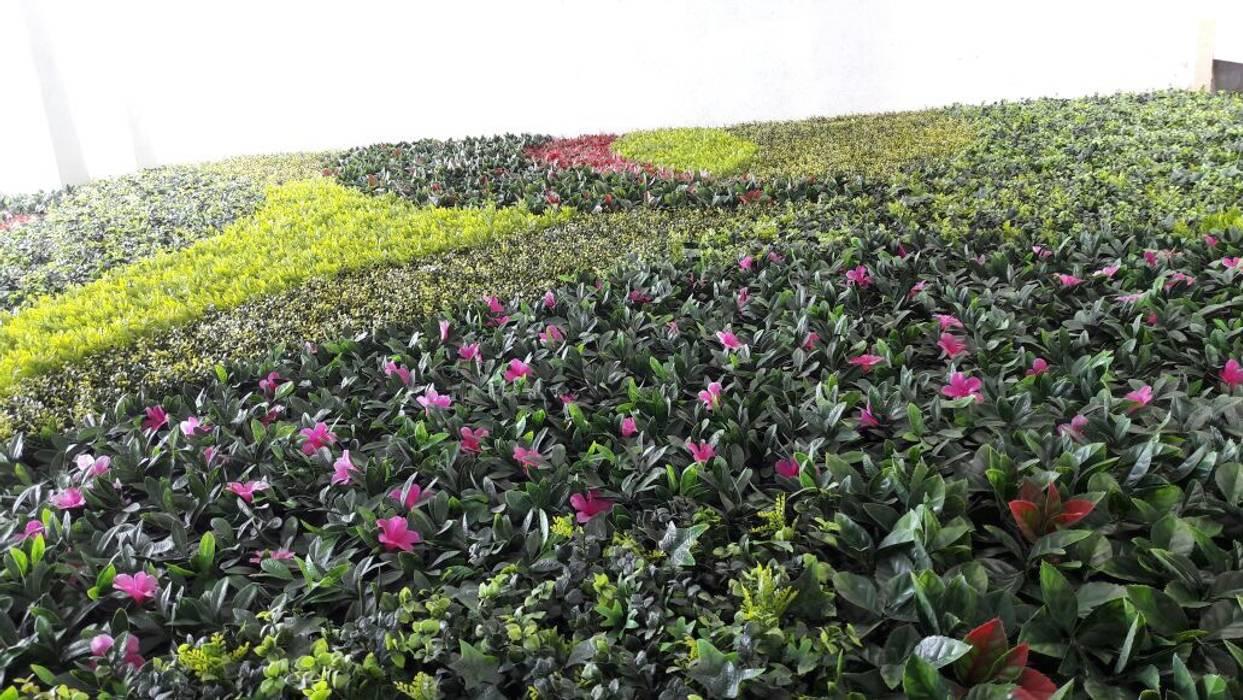 Muro verde artificial Arquitectura Orgánica Viviana Font
