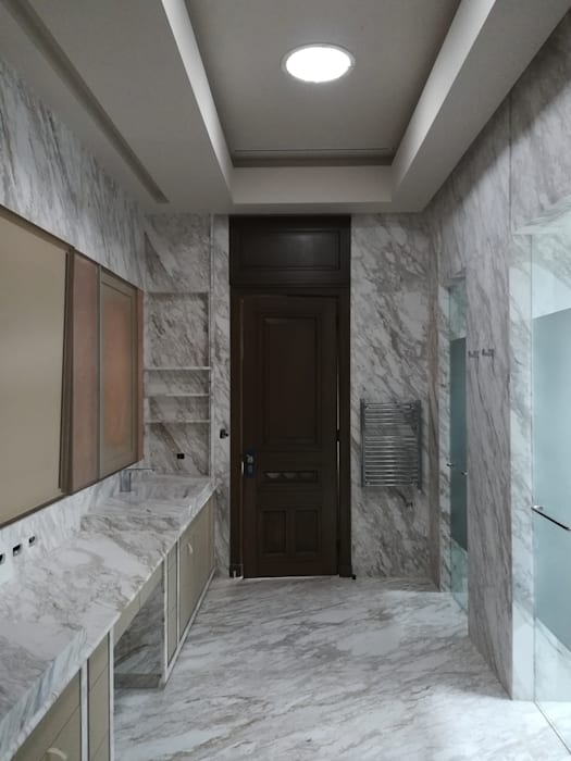 RMC Arquitectura Colonial style bathrooms