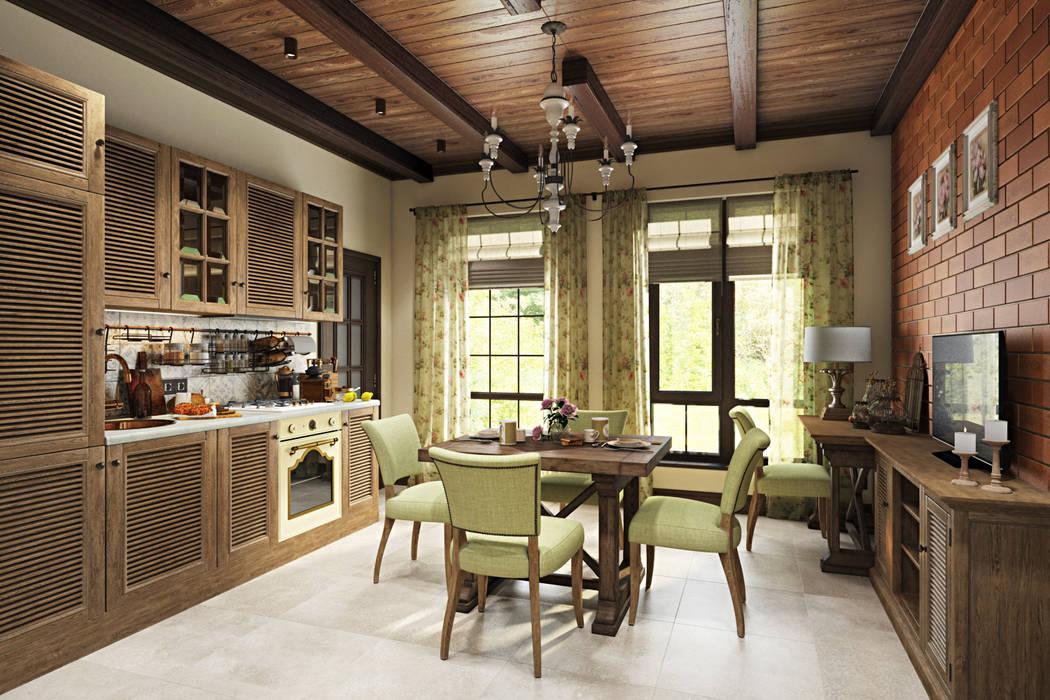 Éléments de cuisine de style  par Zibellino.Design, Rural