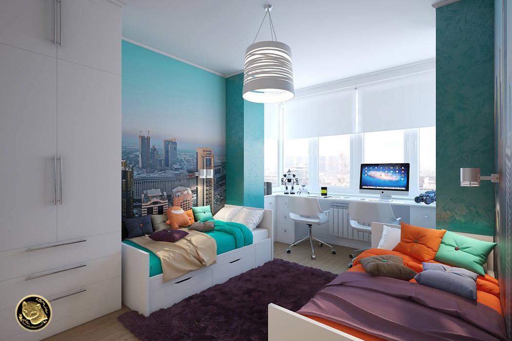 غرفة نوم أولاد تنفيذ Zibellino.Design, إنتقائي