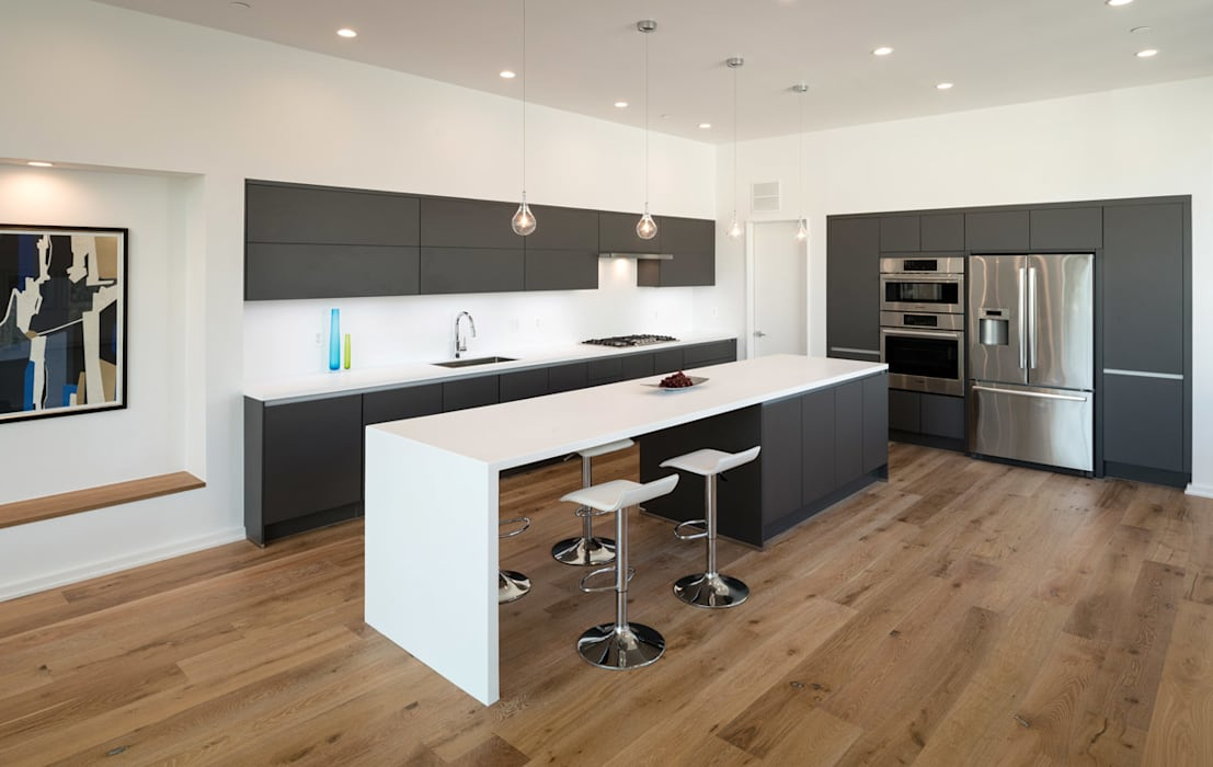 Kenyon St:  Kitchen by KUBE Architecture, Modern