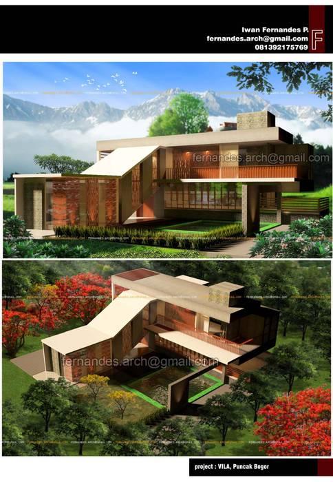 Casas estilo moderno: ideas, arquitectura e imágenes de fernandes.arch Moderno